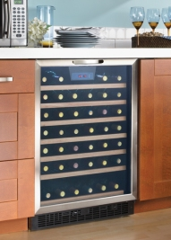 How to design your kitchen with a wine fridge